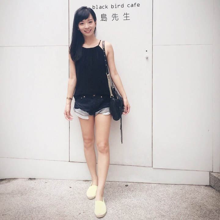 oneteaspoon denim dark shorts bandits 深色牛仔短褲