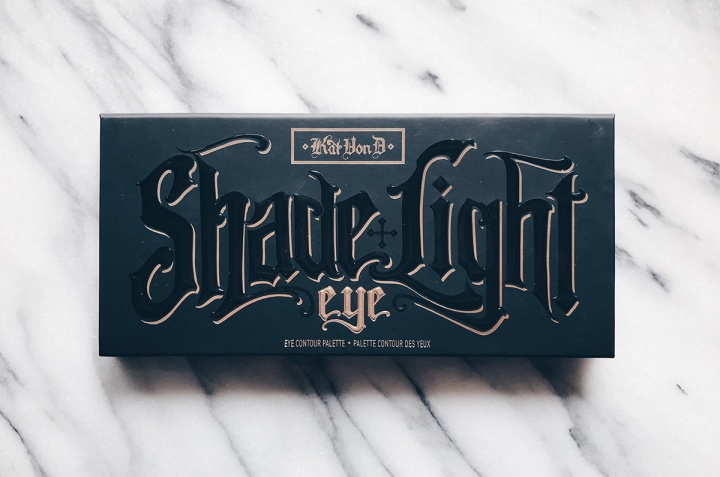 kat von d shade and light eye palette front of box
