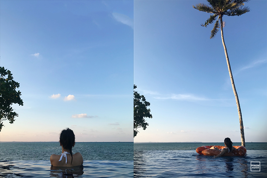 followalice-the-residence-bintan-pool